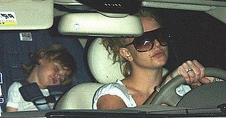 Britney Can't Drive With the Kids Anymore