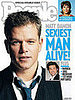 Matt Damon Is Finally People's Sexiest Man Alive!