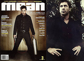 Javier Barden on No Country For Old Men in Mean Magazine