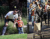Gwen Stefani, Gavin Rossdale, Kingston Rossdale at the Park