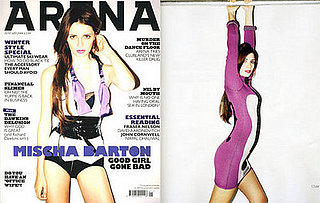 Mischa Barton in Arena Magazine, January 2008