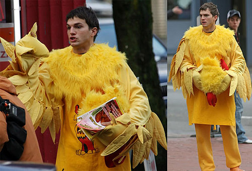 Ashton Kutcher: Angry in a Chicken Suit