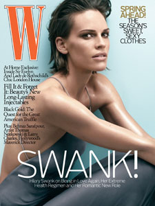 Hilary Swank For W — Hot or Not?