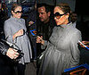 Pregnant Jennifer Lopez Shopping In NYC