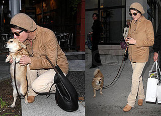 Selma Blair's Puppy Love