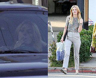 Mischa Barton Smoking Pot