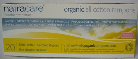 Organic Cotton Tampons:  What For?