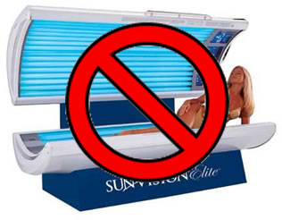 Tanning Beds ARE a Serious No-No