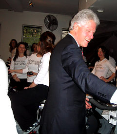 Would You Pay to Attend a Spin Class with Bill Clinton?