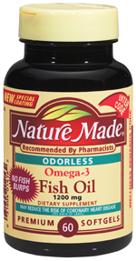 Free Sample:  Nature Made Fish Oil Capsules