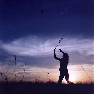 Get Physical:  A Hilarious Game of Badminton