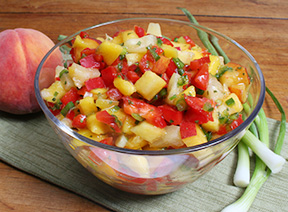 Homemade Fruit Salsa