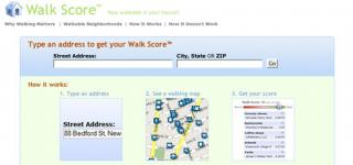 Walkscore: Mine's 97, What's Yours?