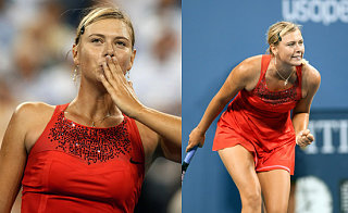 Maria Sharapova is in Shape