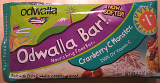 Odwalla Nourishing Food Bar:  Cranberry C Monster