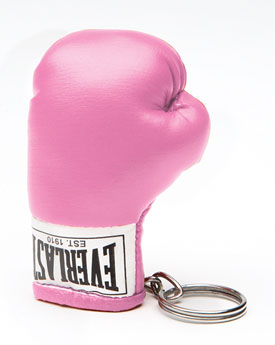 Get in Gear: Pink Boxing Glove Keyring
