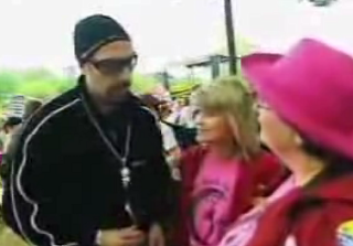 Ali G: Pissin' Everybody Off At A Pro-Choice Rally