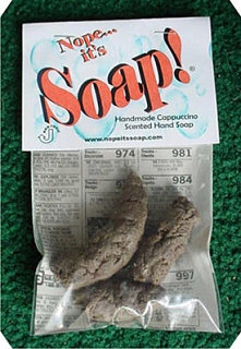 Product of the Day: Coffee-Scented Poop Soap
