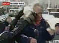 Reporter Gets Snowballed