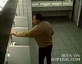 Men's Urinal Prank