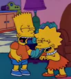 Bart Is The Prank Call Master