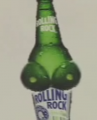 Rolling Rock Tests Out Its Boob Bottle