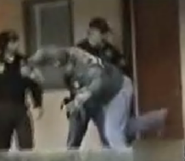 Cop's Ninja Skills Are No Match For Door