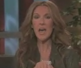 Celine Dion on The Ellen DeGeneres Show