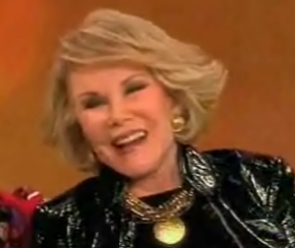 Joan Rivers Rips on Plastic Surgery