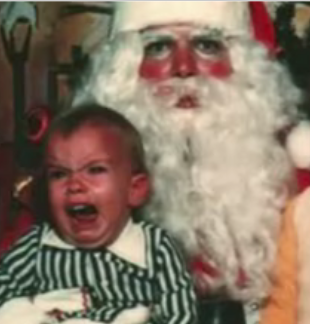 Kids Scared of Santa Claus