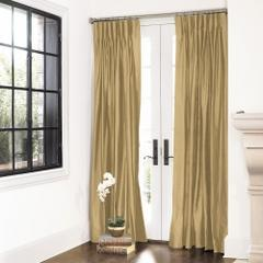 Dupioni Silk Curtain Panel - Ballard Designs