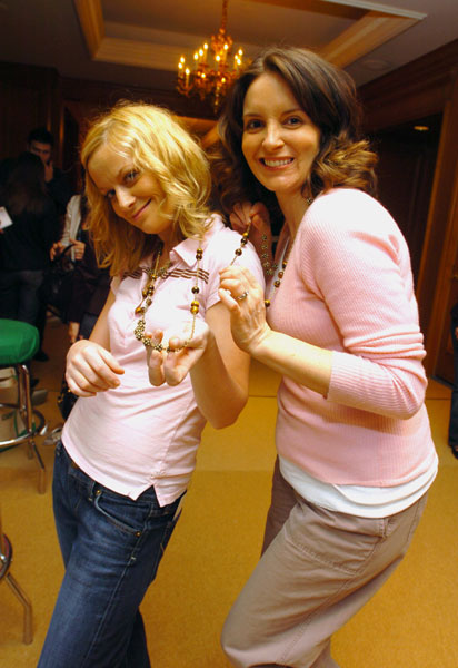 Tina Fey and Amy Poehler Expecting Greatness Together