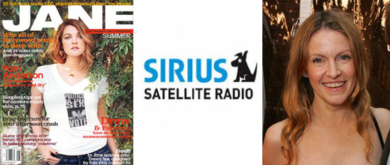 Jane Pratt Gets Sirius