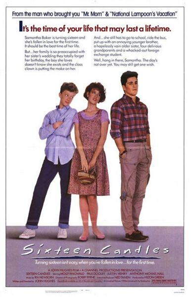 Recast Sixteen Candles and Win a Prize!
