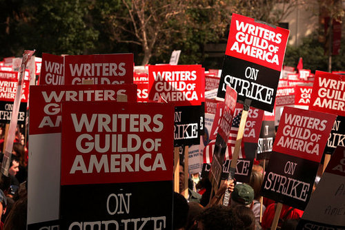Writers' Strike Enters Week Two