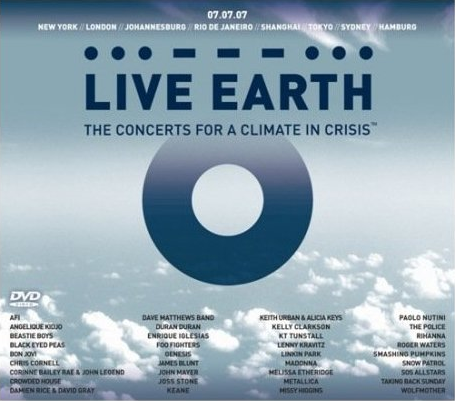 First Look: Madonna, Linkin Park on the Live Earth DVD