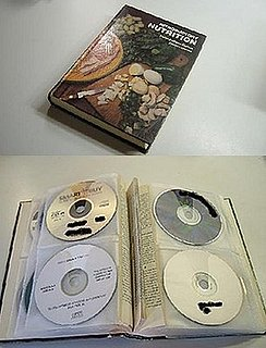 DIY: CD/DVD Storage Book