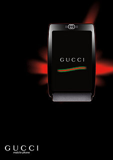Can It Be? A Gucci Cell Phone