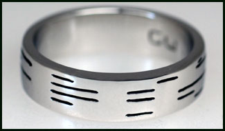 Binary Wedding Bands - I Do or I Don't?