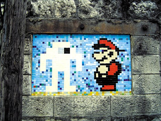 Space Invader Strikes Again