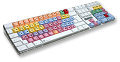 Totally Geeky or Geek Chic? The Colorful Logickeyboard