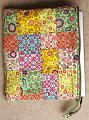 Picnic Embellished Patchwork Laptop Case