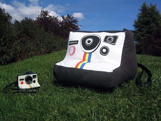 Super-Sized Polaroid Plusharoid Camera