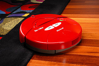 The iRobot By Roomba Goes Red