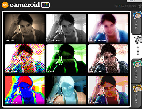 Website of the Day: Cameroid