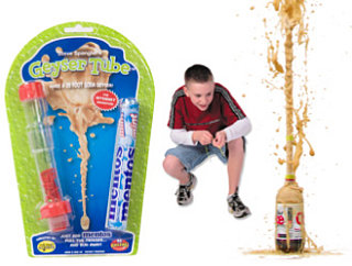 Mentos Geyser Experiment Turned Into Toy