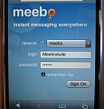 Meebo Goes Mini For The iPhone