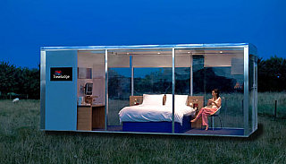 Travelpods by Travelodge: First Mobile Hotel Room
