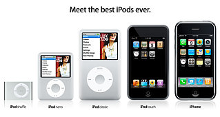 Apple Shows Off 'Best iPods Ever'