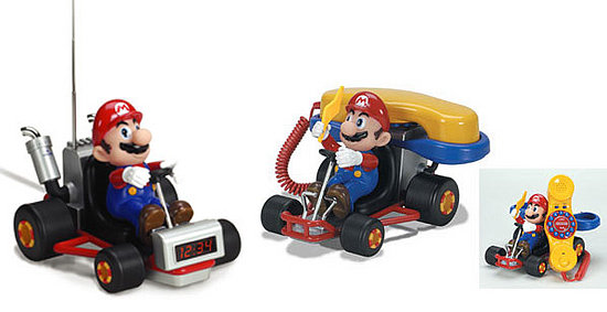 Mario Kart Phone and Alarm Clock: Geek or Geek Chic?